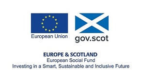 Europe and Scotland - European Social Fund logo