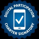 Digital Participation Charter Signatory logo
